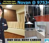District 15 Alpha Apartments 2 Bedder Rental