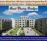 London property for investment selling below market value