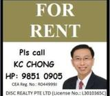 Lakeside MRT/ Foodcourts - Blk 453 Jurong West Street 42 Master Room for Rent