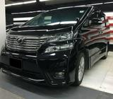 Toyota Vellfire 2.4Z Platinum SII Type Gold A for Private Hire Rental