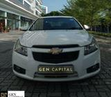 Chevrolet Cruze for Personal/PHV with Affordable Rental Rate