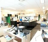 NEW LISTING VERTEX: FULLY FITTED OFFICE SPACE FOR RENT, GOOD CORPORATE IMAGE, NEAR MRT AND AMENITIES