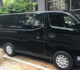 NISSAN NV350 2.5L 2018 MANUAL DIESEL, Van for rent, Van rental @ Bukit Batok