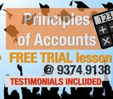 (INSTANTUITION) SEC 3/4/5 - PRINCIPLES OF ACCOUNTS (POA) TUITION - EXPERIENCED FEMALE TUTOR