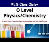 Secondary Physics and Chemistry / Lower Sec Science Tuition (Sengkang)