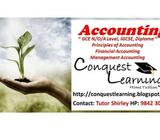 IGCSE, GCE N/O/A Level Principles of Accounts POA Accounting Home Tuition Female Tutor HP 9842-3048