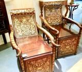 Rare Vintage Rosewood Lounge Chair(1 Pair)