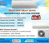 AIRCON INSTALLATION(NEW/USED) WITH 10% OFFER