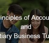 POA, Principles of Accounts, Business Statistics and Finance Tuition!