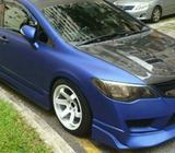 SPORTY HONDA CIVIC 1.8A FOR LEASING