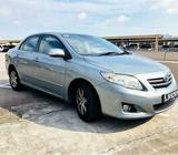 Toyota Altis [2010 unit]