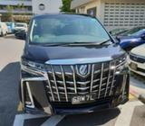AttN All Private Hirer & Limousine Drivers !Brand New Alphard With Single Digit