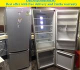 Panasonic (282L) 2 doors fridge / refrigerator ($240 + free delivery and 2mths warranty)
