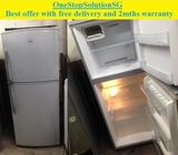 Toshiba (190L) 2doors refrigerator / fridge ($180 + FREE delivery and 2mths warranty)
