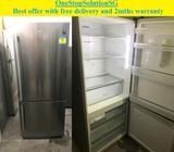 Samsung (402L),Side by-Side doors fridge / refrigerator ($350 + Free delivery and 2mths warranty)