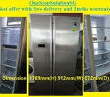 Samsung (551L),Side by Side fridge / refrigerator  ($550 + FREE delivery and 2mths warranty)