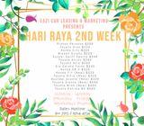 Budget Cars for Rent - Hari Raya 2nd Week (Weekdays Promo)