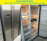 Teka 586L, Side by Side doors fridge / refrigerator ($550 + Free delivery & 2mths warranty)