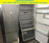 Panasonic (395L), 2 doors (Inverter) refrigerator / fridge ($320 + free delivery and 2mths warranty)
