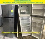 LG (253L), 2doors refrigerator / fridge ($280 + free delivery and 2mths warranty)