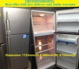 Offer: LG (428L), 2 doors BIG  refrigerator / fridge ($300 + free delivery and 2months warranty)