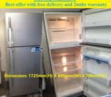 Offer: LG (388L), 2 doors BIG   fridge / refrigerator ($280 + free delivery & 2mths warranty)
