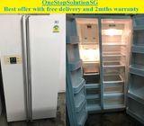 LG (537L),Side by Side doors fridge / refrigerator ($450 + Free Delivery & 2mths warranty)