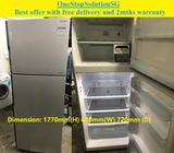 Hitachi (395L), 2doors Inverter Big fridge / refrigerator ($350 +free delivery & 2mths warranty)