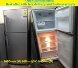 Samsung 340L, 2doors fridge / refrigerator ($250 + free delivery & 2mths warranty)
