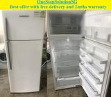 Fisher & Paykel (439L), Big 2 doors fridge / refrigerator ($380 + free delivery and 2mths warranty)