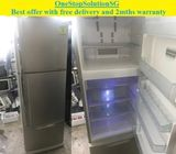 Toshiba (299L) 3doors Big fridge / refrigerator ($270 + free delivery and 2mths warranty)