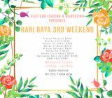 Cheapest Car for Rent - Hari Raya 3rd Weekend Promo