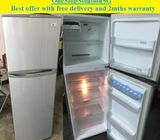 LG 237L, 2doors refrigerator / fridge ($190 + Free delivery & 2mths warranty)