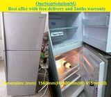 Hitachi  (260L) 2doors refrigerator / fridge ($220 + Free Delivery and 2mths warranty)