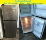 LG 188L, 2 doors refrigerator / fridge  ($180 + Free Delivery and 2mths warranty)