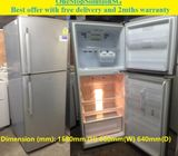 Samsung (340L), 2doors Fridge / Refrigerator ($250 + Free Delivery and 2mths warranty) Model : RT41M