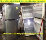 Panasonic (296L) 2doors Huge fridge / Refrigerator ($280 + FREE delivery and 2mths warranty)