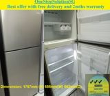 Samsung (351L) 2 doors Big Refrigerator / Fridge ($350 + Free Delivery and 2months warranty)