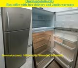 Fisher & Paykel (489L) 2 doors Huge refrigerator / fridge ($390 + Free Delivery and 2mths warranty)