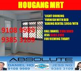 Hougang MRT Master Bedroom for RENT!