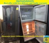 Samsung 340L, 2doors Refrigerator / Fridge ($270 + Free Delivery & 2mths warranty)