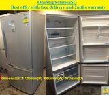 Panasonic (355L), 2 doors (inverter) fridge / refrigerator ($300 + Free delivery and 2mths warranty)