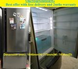 Panasonic (602L), 2 doors Huge fridge / refrigerator ($450 + free delivery and 2mths warranty)