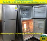 Samsung 354L 2doors Big refrigerator / fridge ($250 + Free Delivery and 2mths warranty)