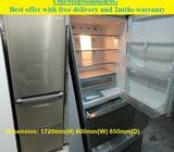 Mitsubishi Folio (384L) 3doors refrigerator / fridge ($300 + Free Delivery & 2mths warranty)