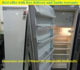 SMEG (296L) Integrated Single Door Refrigerator / Fridge  ($300 + Free Delivery & 2mths warranty)