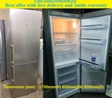 Offer: Bosch (252L) 2doors Refrigerator / Fridge ($250 + Free Delivery and 2mths warranty)