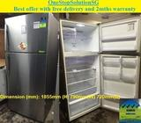 Samsung (533L), 2 doors fridge / refrigerator ($450 + Free Delivery & 2mths warr