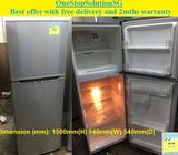 LG (188L) 2 doors Refrigerator / Fridge ($180 + Free Delivery and 2mths warranty)