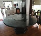 Table Top Glass - Lazy Susan - Round shape & Tempered
